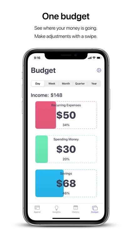 Nudget: Spending Tracker screenshot-3