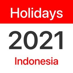 Indonesia Public Holidays 2021