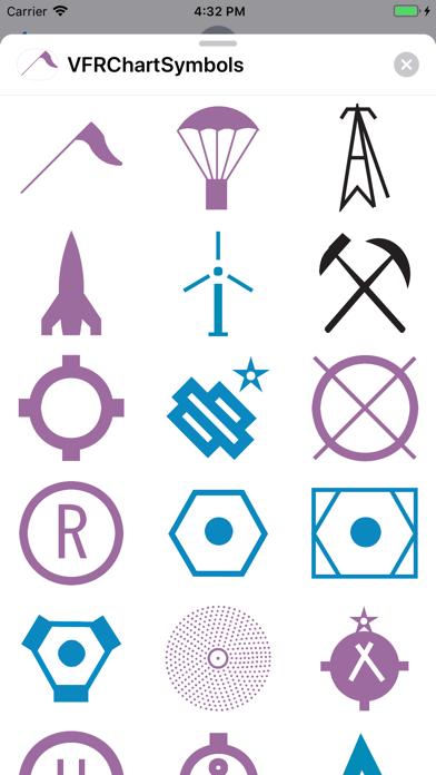Screenshot for VFR Symbols in Egypt App Store