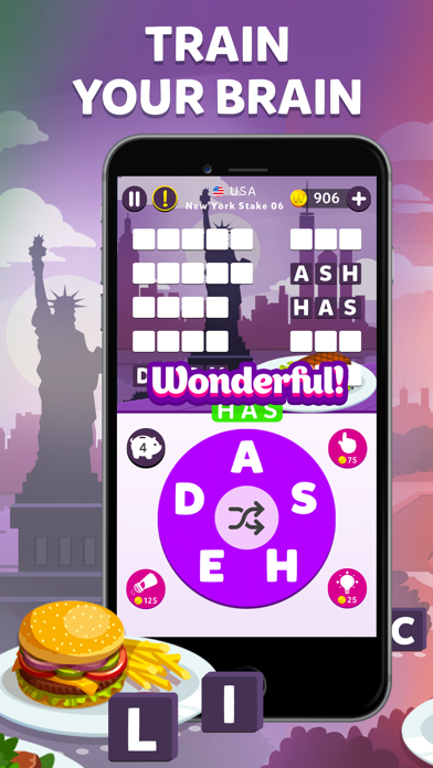 Wordelicious - Fun Word Puzzle wiki review and how to guide