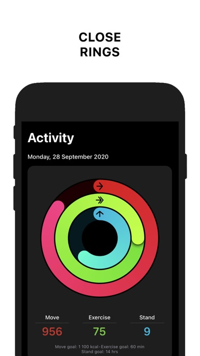 Activity Tracker+ Screenshots