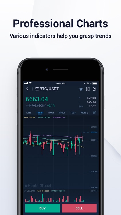 Huobi App screenshot-3
