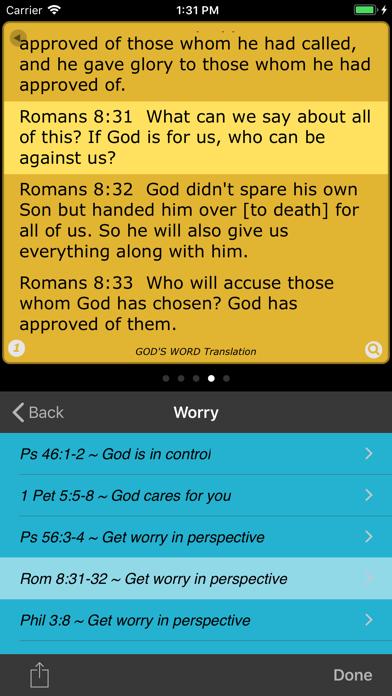Spectrum Bible screenshot four