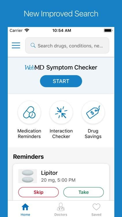 WebMD: Symptoms, Rx, & Doctors screenshot-4
