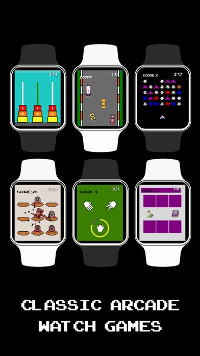 6 Classic Arcade Watch Games screenshot 1