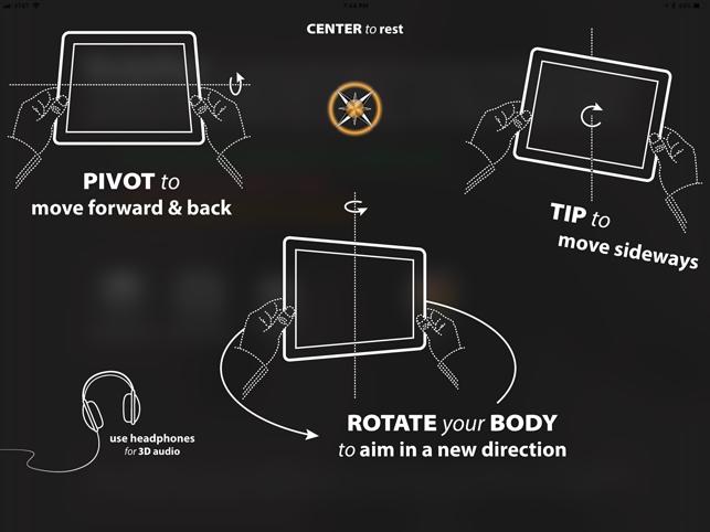 BodyNav, game for IOS