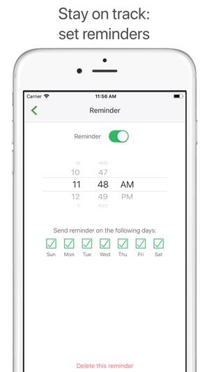 Iphone app helps you remember do kegels
