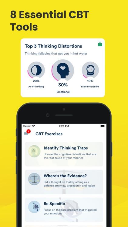 Mooditude — Mood Tracker | CBT screenshot-5