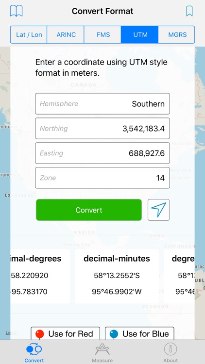 GPS Coordinate Converter screenshot-3