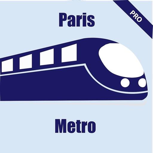 Paris Metro Routes and Map Pro