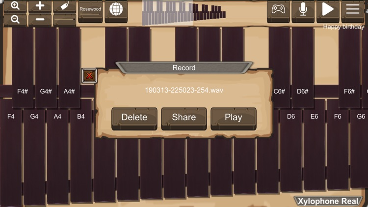 Xylophone Real: 2 mallet types screenshot-5