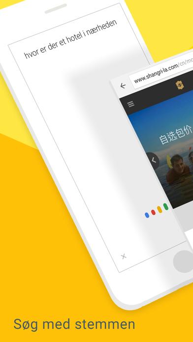 Screenshot for Chrome – webbrowser fra Google in Denmark App Store
