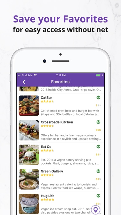 HappyCow Find Vegan Food app image