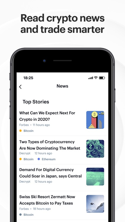 Coinbase: Trade BTC, ETH, DOGE screenshot-8