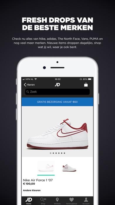 JD Sports App voor iPhone, iPad en iPod touch AppWereld