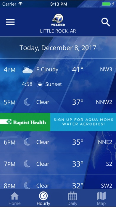 KATV Channel 7 Weather - AppRecs on fox 16 weather, kthv weather, wtte weather, kark weather, your local weather, wpxi weather, wttg channel 5 weather, wkef weather, arkansas weather, wxia-tv weather, wotv weather, today's thv weather, wqow weather, wplg weather, wapt weather, kfxa weather, wncn weather, wtvf weather, channel 8 weather, kdfw weather,