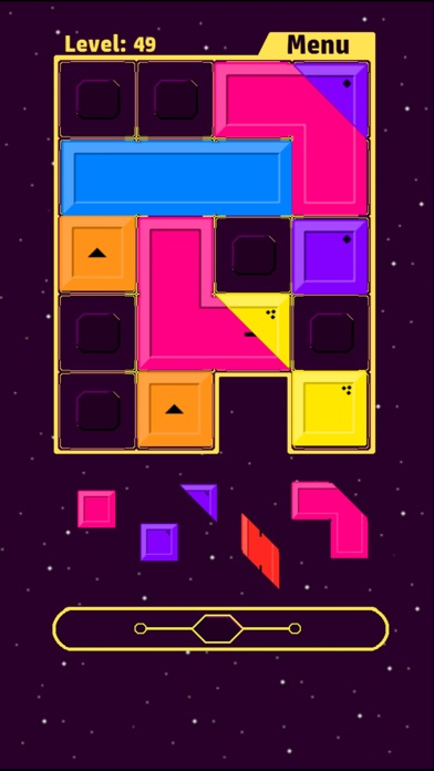 Screenshot #9 for Fill me up - Block Fitting Puz