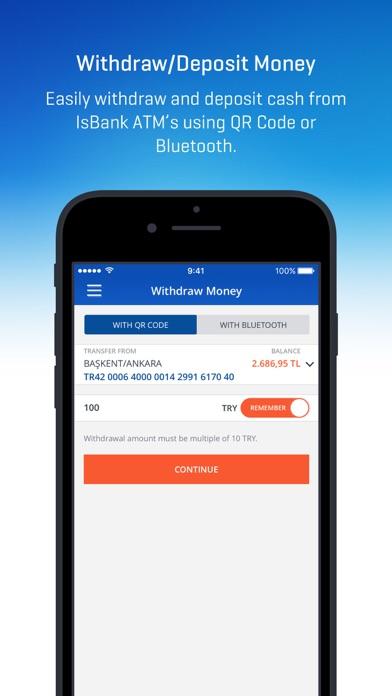 İşCep - Mobile Banking ekran görüntüsü