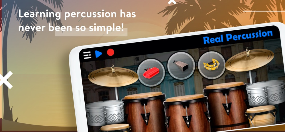 REAL PERCUSSION: Drum pads