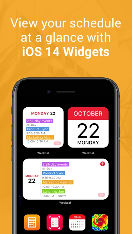 WeekCalendar - Weekly Calendar screenshot-3