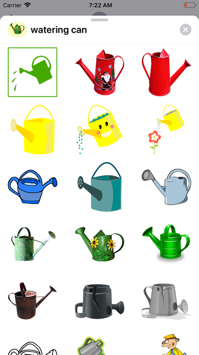 点击获取Watering Can Stickers