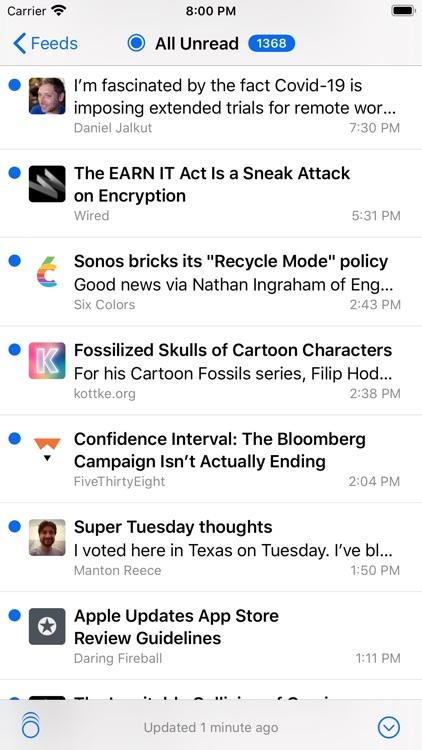 NetNewsWire: RSS Reader screenshot-3