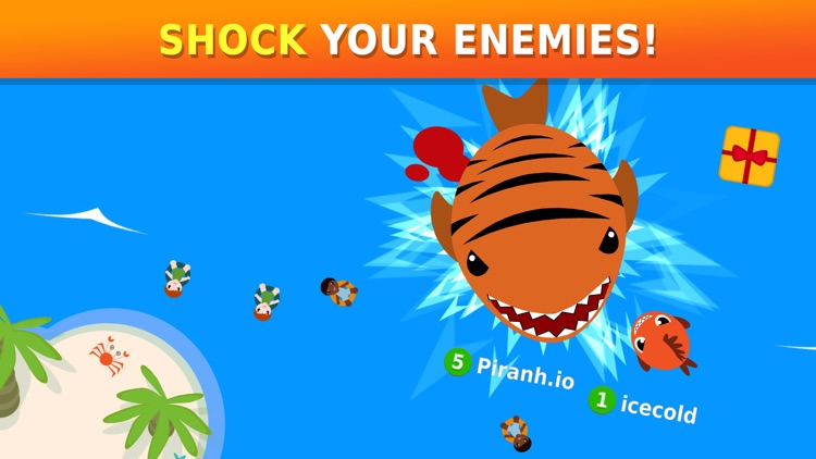 Piranh.io: Fun Online Battle! screenshot-3