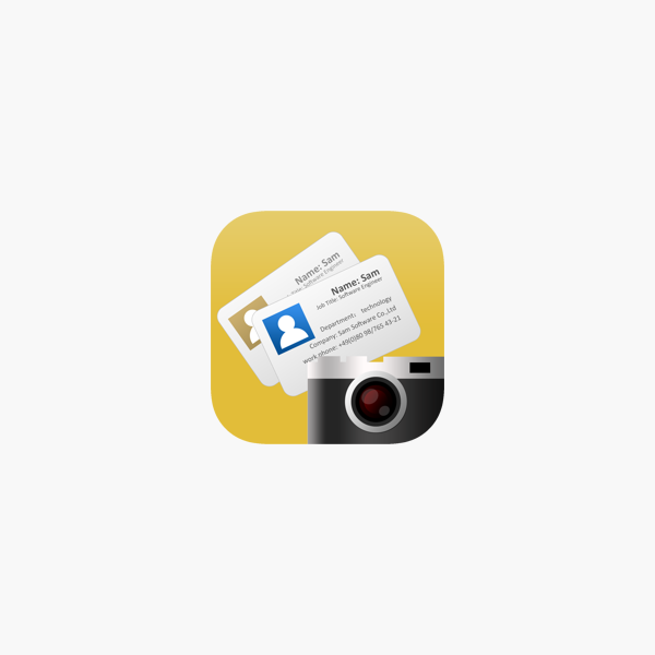 Visitenkarten Scanner Ocr Card Im App Store