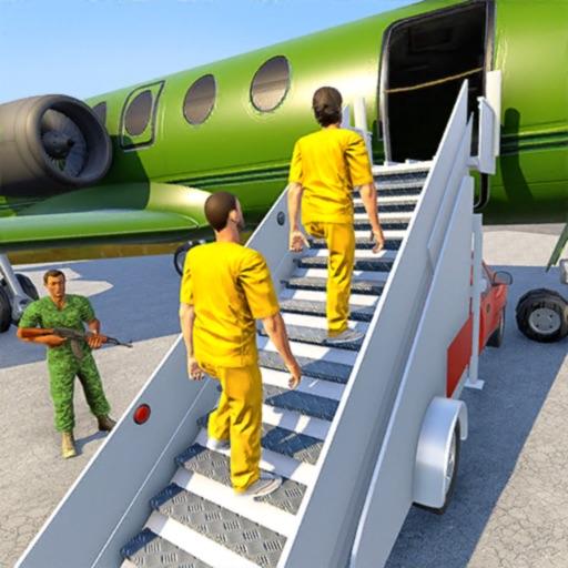 Army Prisoner Transport Plane