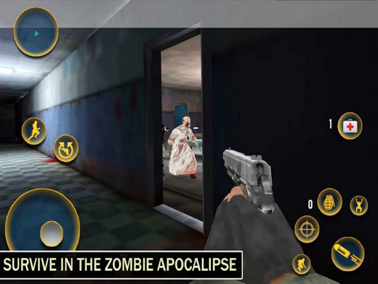 Ghosht House: Zombies Target-ipad-1