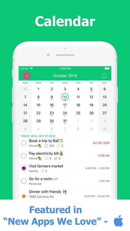 Planner, To Do List & Calendar