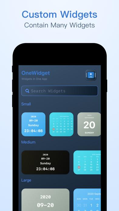 OneWidget - Widgets in One Appのおすすめ画像2