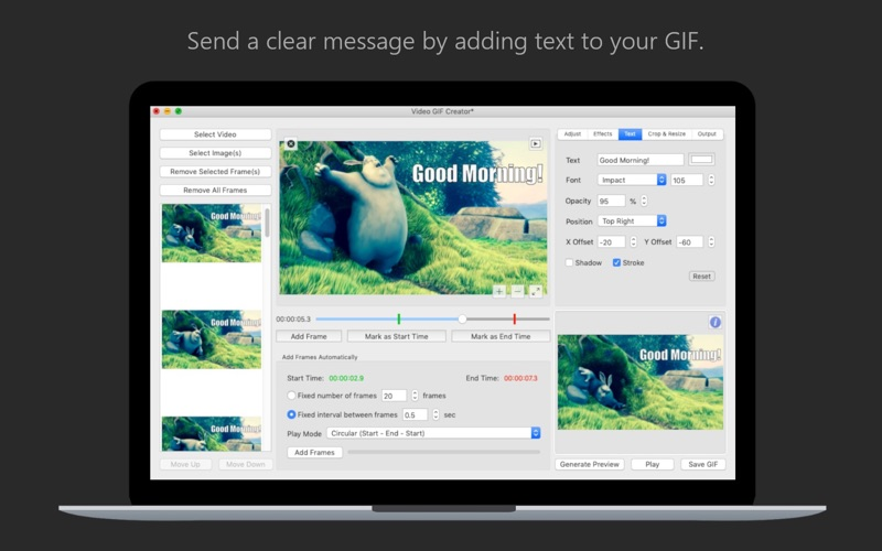 Video GIF Creator - GIF Maker