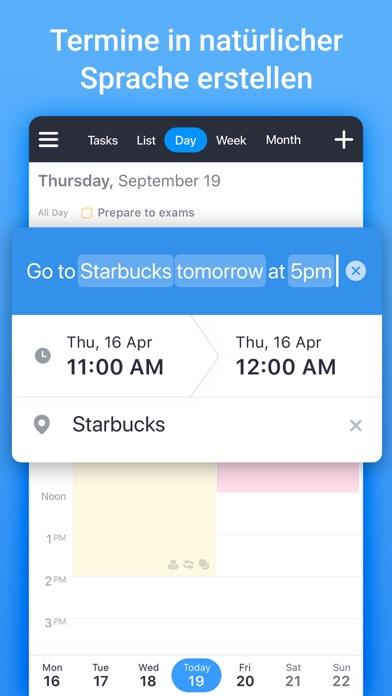 Kalender von Readdle: PlanerScreenshot von 7