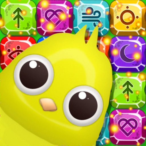 Birds: Candy Jewels Gems Match