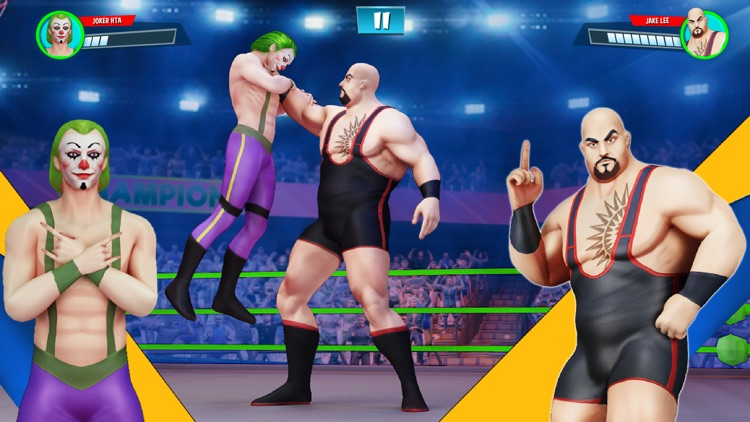 Wrestling Games Revolution 3D screenshot-4