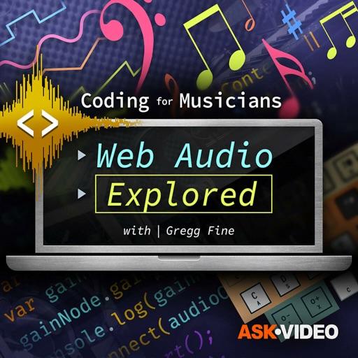 Web Audio Explore Course icon