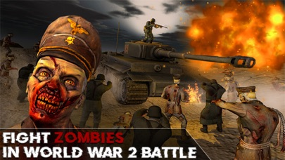 World War 2: Zombie Survival screenshot one