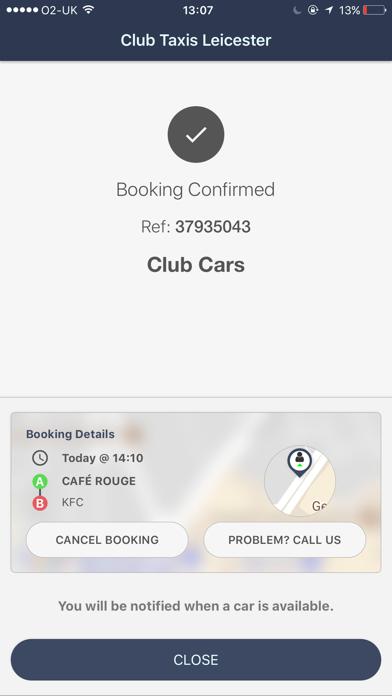 Club Taxis Leicester screenshot four