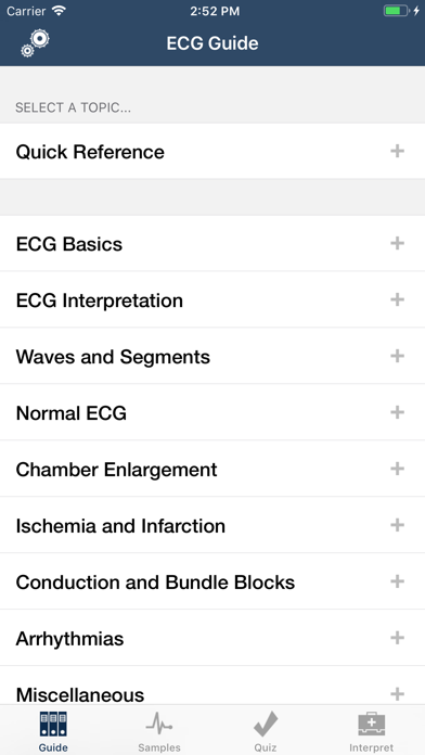 Ecg Guide review screenshots