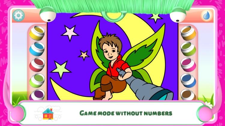 Fairies Coloring Book screenshot-5