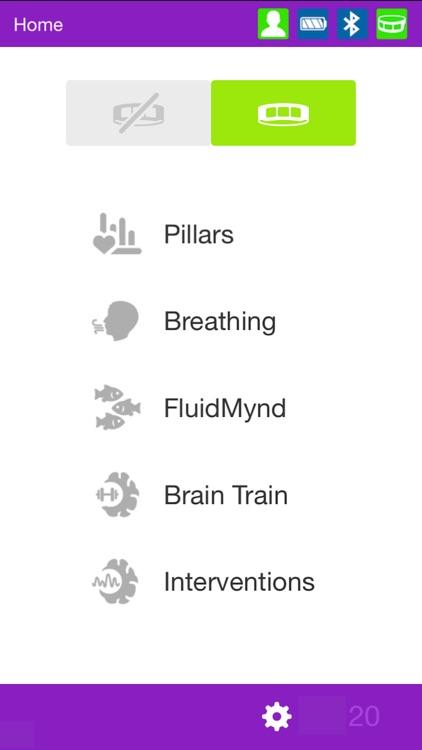 FocusBand NeuroSelfCare screenshot-0