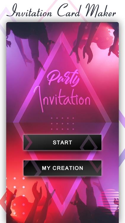 Party Invite Card Maker By Nalin Savaliya
