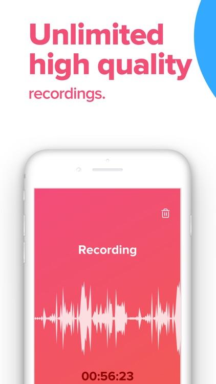 Rev Voice Recorder & Memos screenshot-3