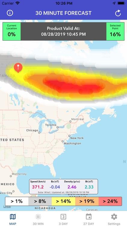 Aurora Forecast & Alerts