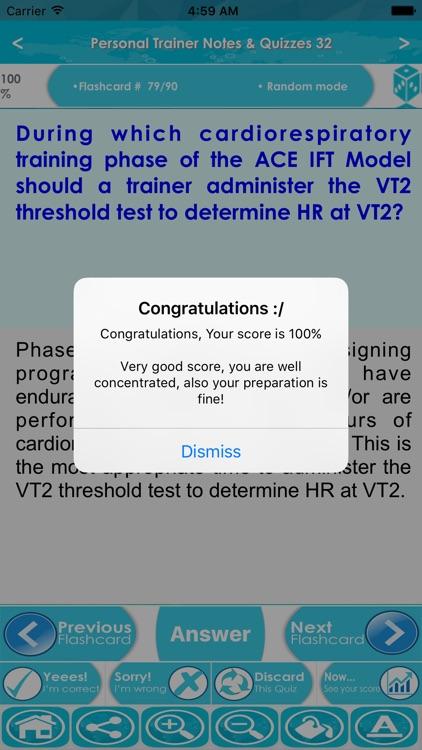 Personal Trainer Exam Prep App screenshot-4