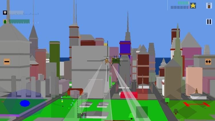 Retro Flight: 3D battle sim screenshot-3