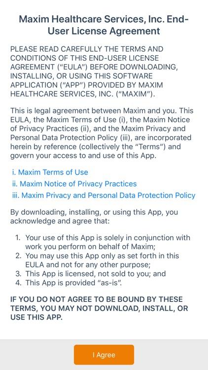 MaximCare Mobile