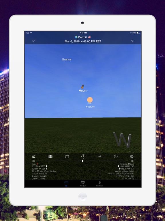 Screenshot #5 pour Soleil et Lune 3D Pro