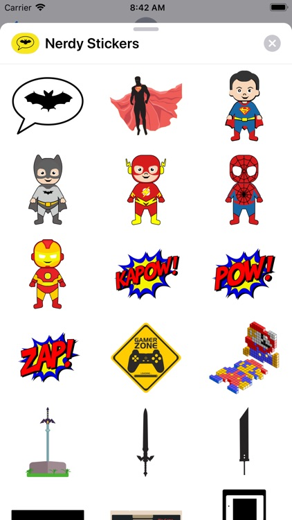 Nerdy Stickers: For Cool Nerds